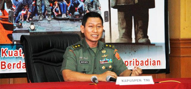 Kapuspen TNI, Mayjen Wuyanto (foto: Intelijen.co.id)
