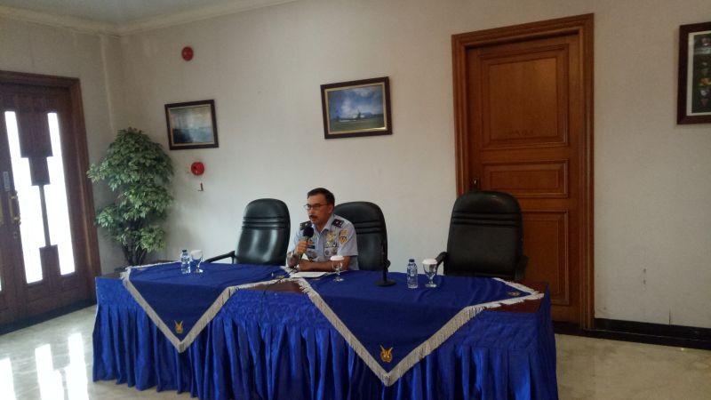 Kadispen AU Marsma TNI Jemi Trisonjaya (Foto: Puteranegara/Okezone)