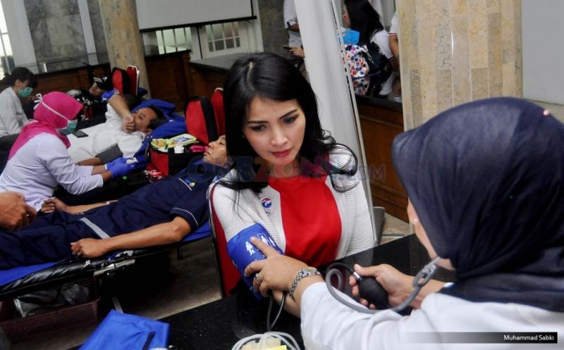 Ilustrasi donor darah Kartini Perindo (Foto: Okezone)