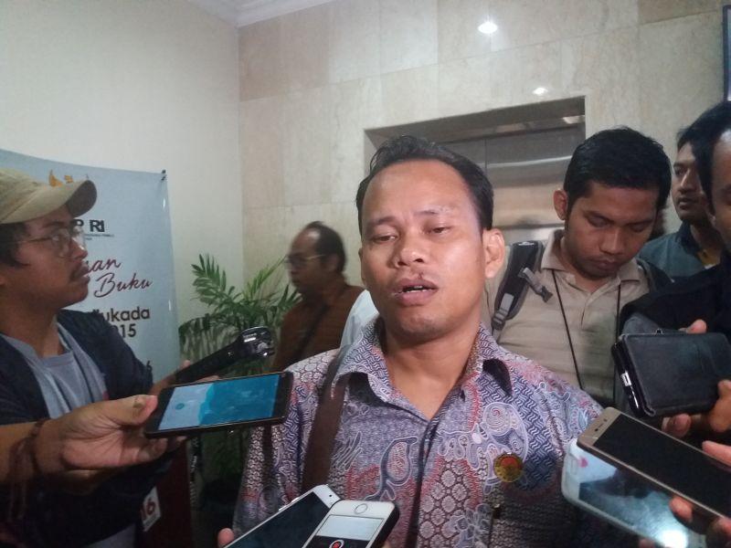Koordinator Divisi Hukum Penindakan dan Pelanggaran Bawaslu DKI Muhammad Jufri (Foto: Okezone)