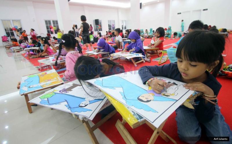 Kembangkan Kreativitas Anak Bangsa Kartini Perindo Helat Lomba