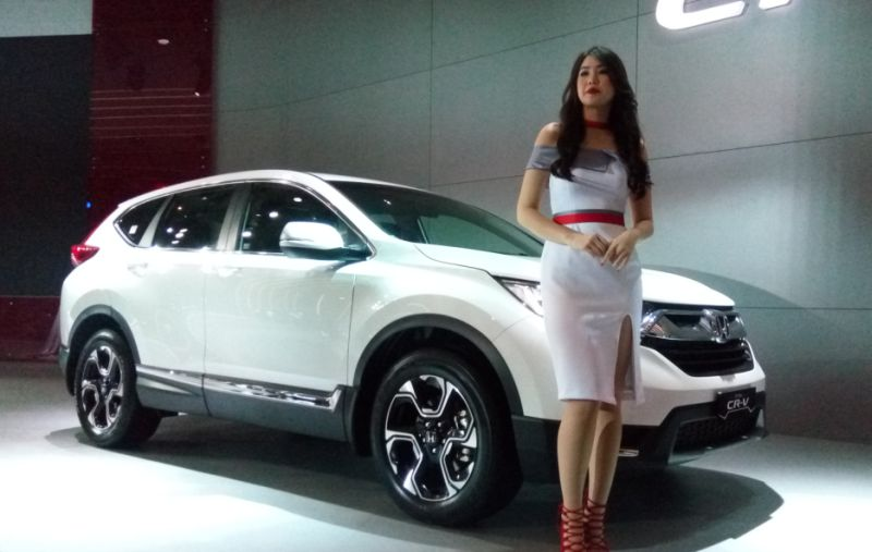 Honda Cr V Versi 7 Tempat Duduk Hadir Di Indonesia Okezone Otomotif