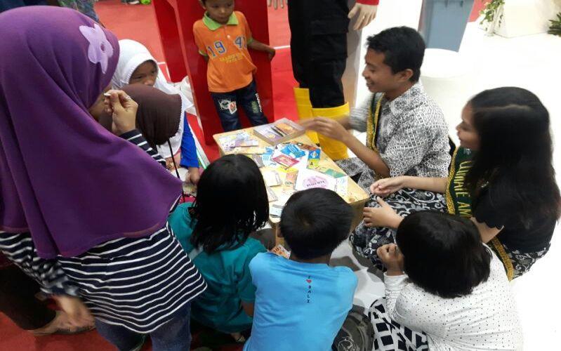 Ajak Anak Peduli Lingkungan, Mahasiswa Ciptakan Permainan Kreatif Coboy