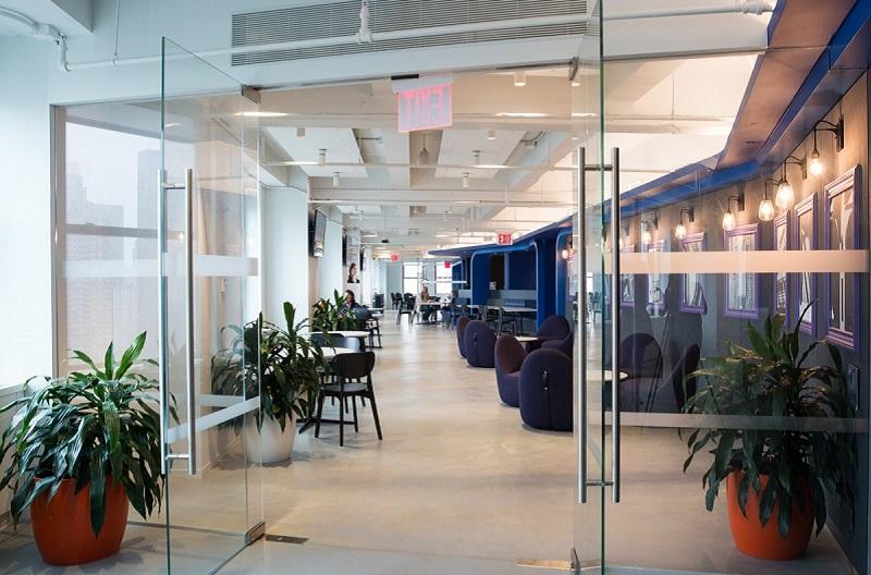 Mengintip Kantor LinkedIn, Mulai dari Bioskop hingga Tembok Misterius