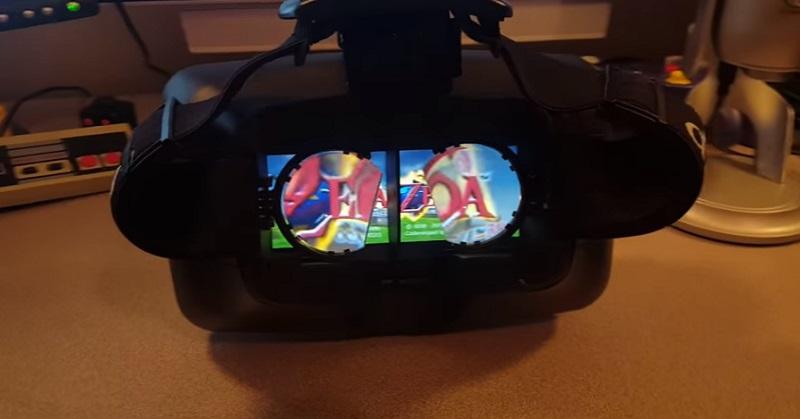 Gamer Temukan Cara Gunakan Switch untuk VR
