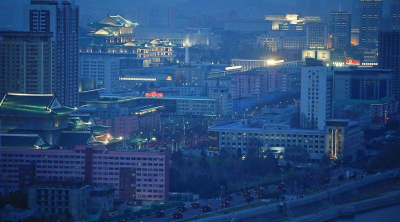 Foto Kota Pyongyang, Korea Utara (Foto: Reuters)