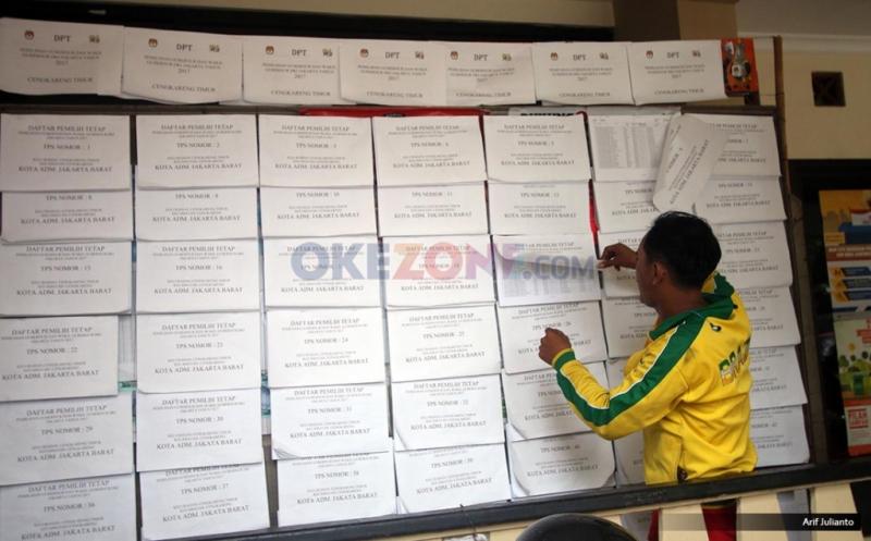 Pilkada DKI 2017, Data Pemilih Jadi Dugaan Pelanggaran Terbanyak