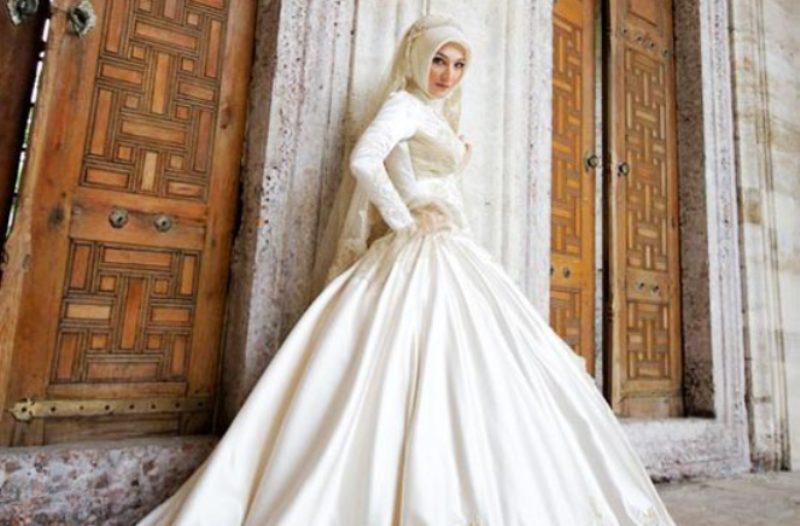Selain Ball Gown Ini Deretan Model Gaun Pengantin Wanita Muslimah