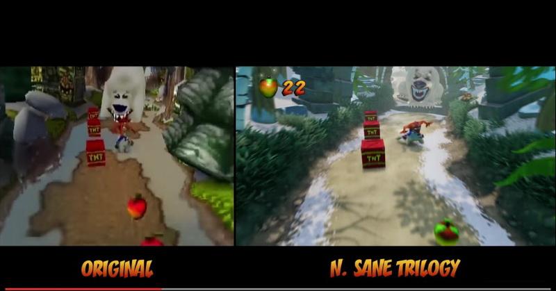 Perbedaan Game Crash Bandicoot Versi PS4 dan PlayStation