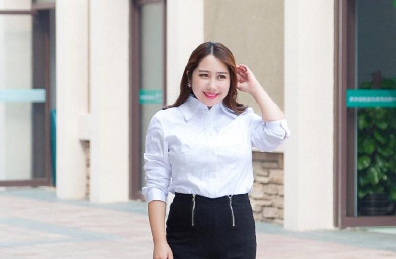Punya Badan Gemuk Ini Tipsnya Biar Pede Pakai Baju Putih