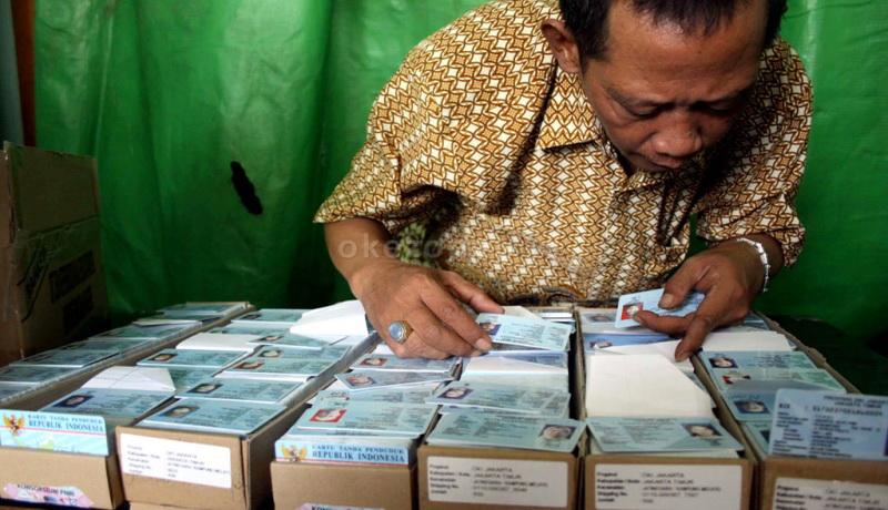 Disdukcapil Kabupaten Bekasi Terima 10 Ribu Blangko E-KTP