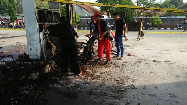 Nih.. Kronologi Kebakaran SPBU di Bekasi : Okezone News