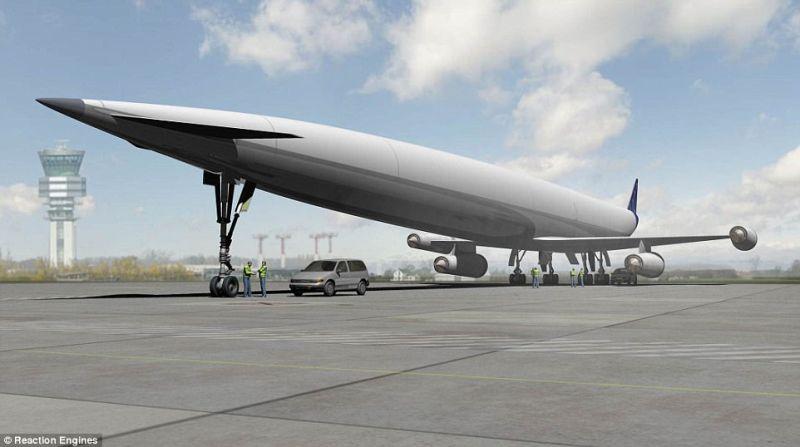 Pesawat Ini Bisa Membawa Turis Mengelilingi Bumi Lebih Cepat