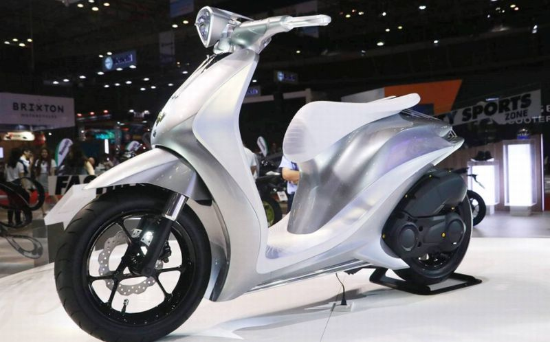Yamaha Pamer Konsep Motor Skutik Masa Depan