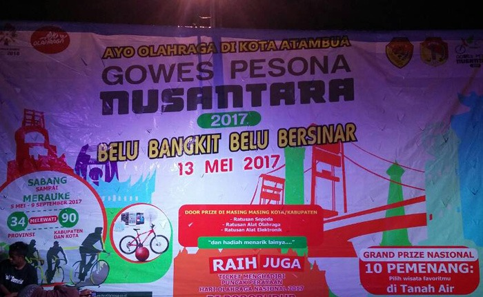 Sambut Gowes Pesona Nusantara 2017, Pemkab Belu Gelar Ritual Makoan