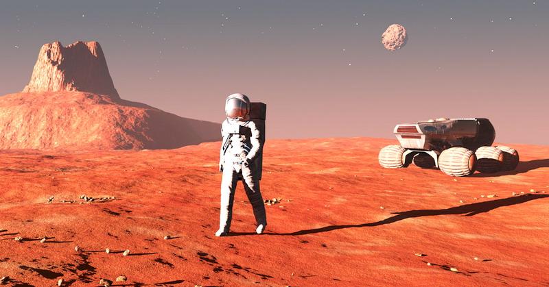 NASA Beberkan 5 Misi ke Mars pada 2030