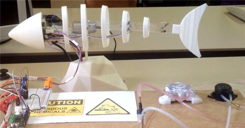 Ilmuwan Bikin Ikan Robot untuk Pantau Lingkungan