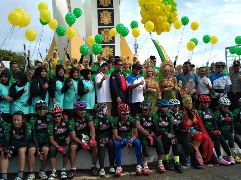 Pesona Gowes Nusantara Angkat Pariwisata dan Budaya Lokal