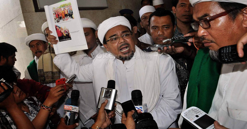 Sebut Kasusnya Dipolitisasi, dari Malaysia Habib Rizieq ...