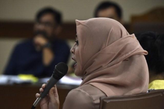 Korupsi Hambalang, Angelina Sondakh Akui Terima USD2.000 dari Mahyudin