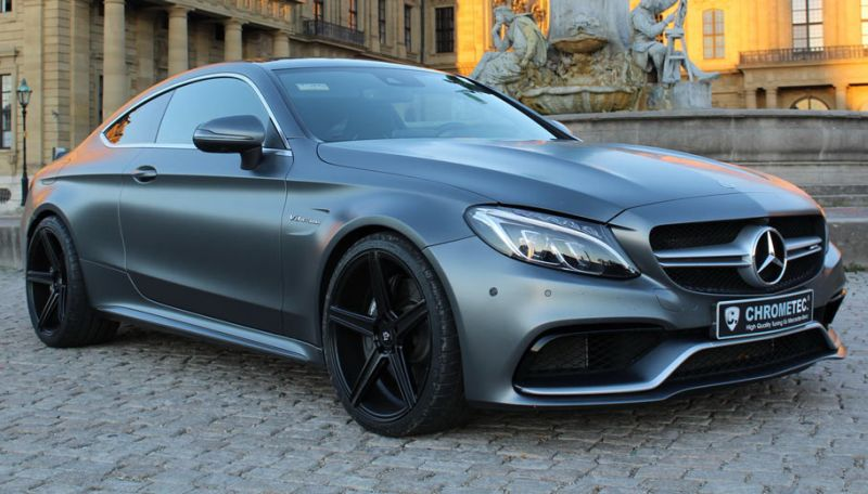 Mercedes Benz AMG C63 Coupe (Foto: Carscoops)
