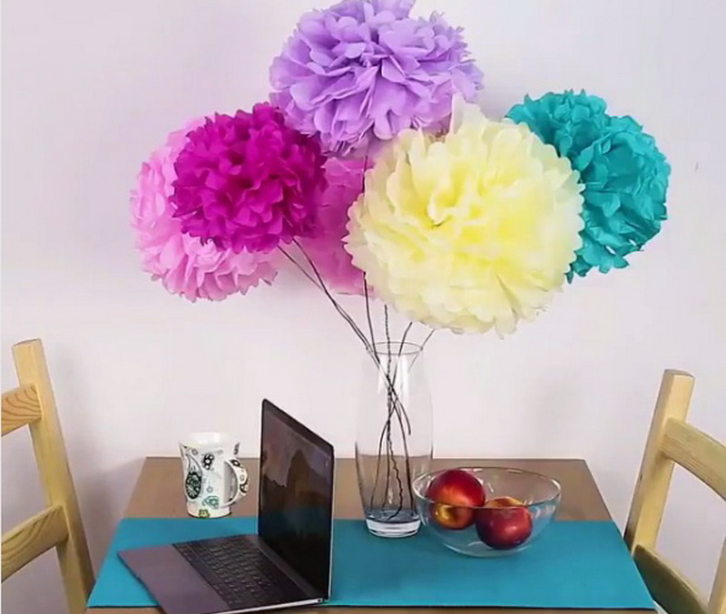 Cara Membuat Bunga Dari Kertas Untuk Dekorasi Pelaminan