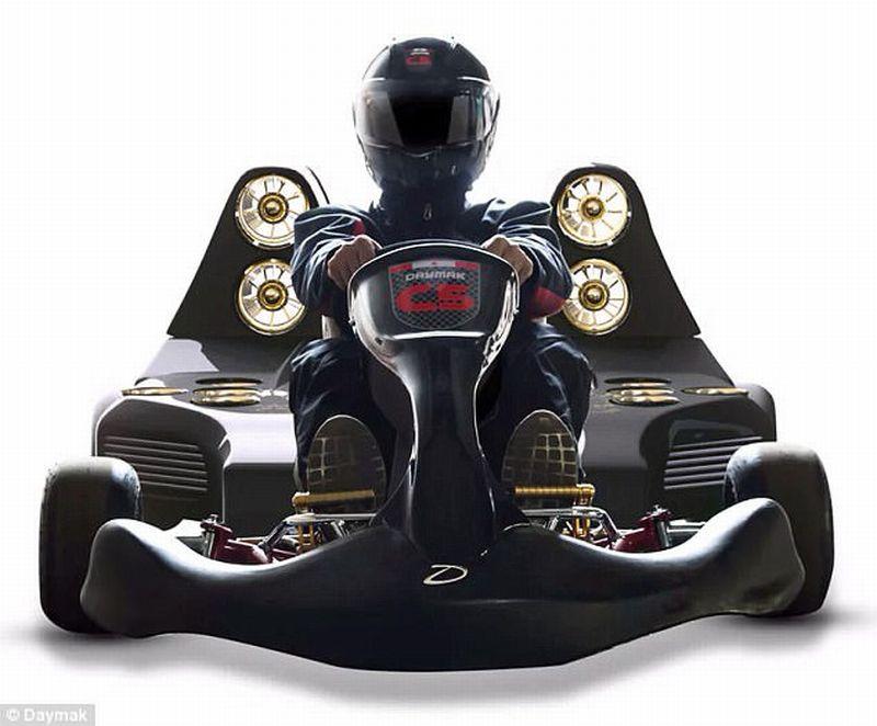 Go-kart C5-Blast Ultimate tercepat di dunia (Daymak)