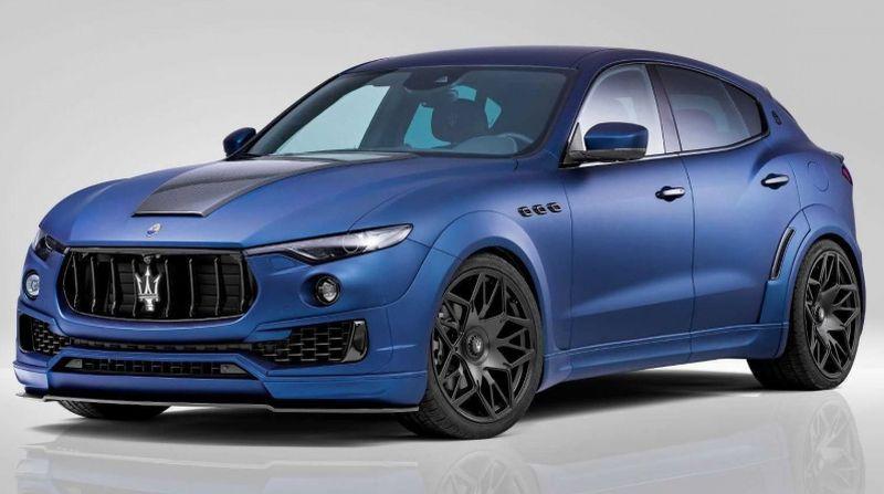 Maserati Levante (Carscoops)