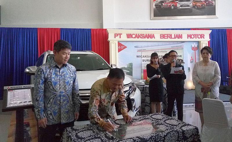 Peresmian diler Mitsubishi di Bandung (Foto: Anton/Okezone)