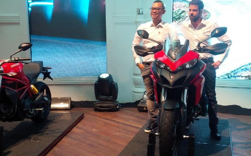 Motor Ducati (Foto: Santo/Okezone)