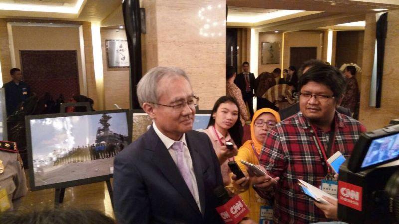 Foto Duta Besar Jepang untuk Indonesia, Masafumi Ishii (Foto: Wikanto/Okezone)