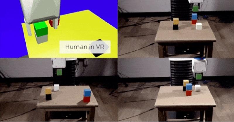 Keren, Robot Ini Dilatih Menggunakan VR