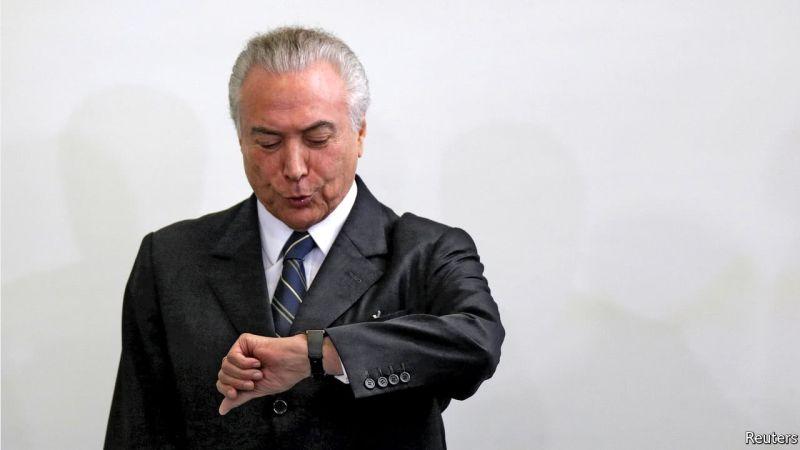 Foto Presiden Brasil Michael Temer (Foto: Reuters)
