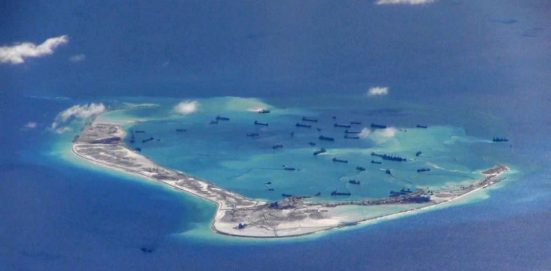 Wilayah Laut China Selatan. (Foto: Reuters)