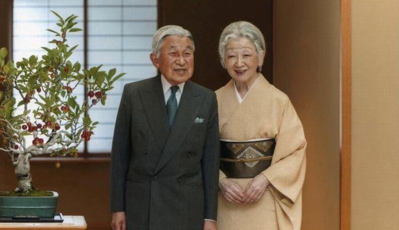 Kaisar Akihito dan Permaisuri Michiko. (Foto: Imperial Household Jepang/Reuters)