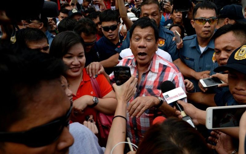 Presiden Filipina, Rodrigo Duterte. (Foto: Getty Images)