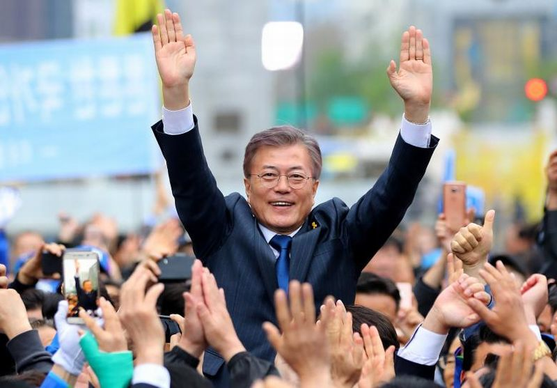Presiden Korsel, Moon Jae-in. (Foto: Reuters)