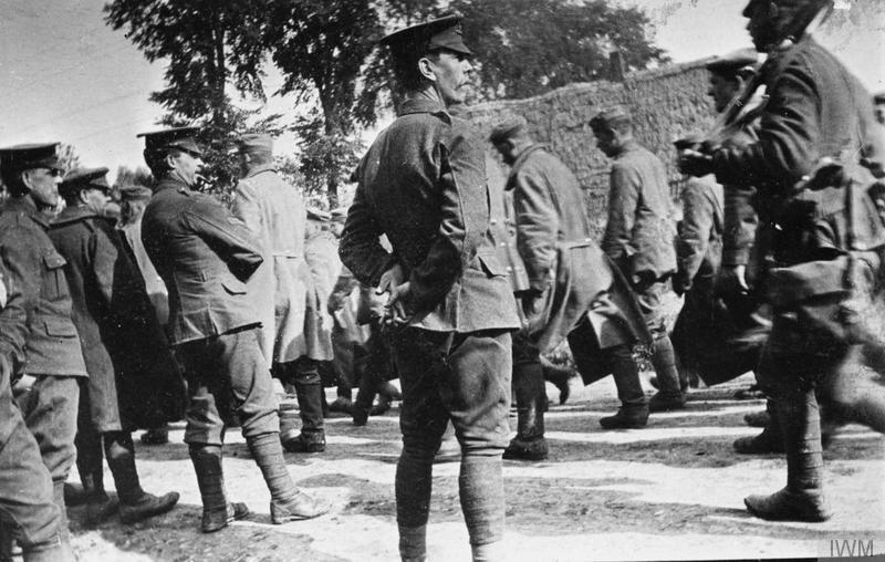 Pasukan Inggris dalam Pertempuran Festurbert. (Foto: IWM)