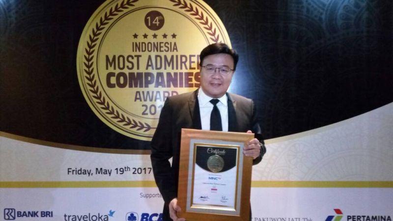 Mantap! MNCTV Terima Penghargaan IMACO Award 2017