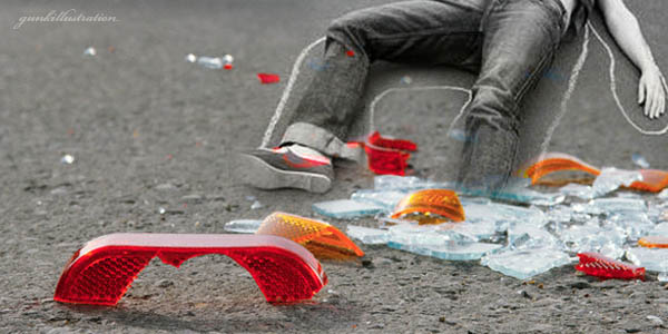 Ilustrasi kecelakaan (Foto: Ist)