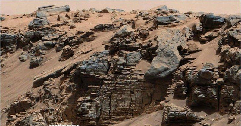 Ternyata Setetes Hujan di Mars Berperan Bentuk Permukaan Planet