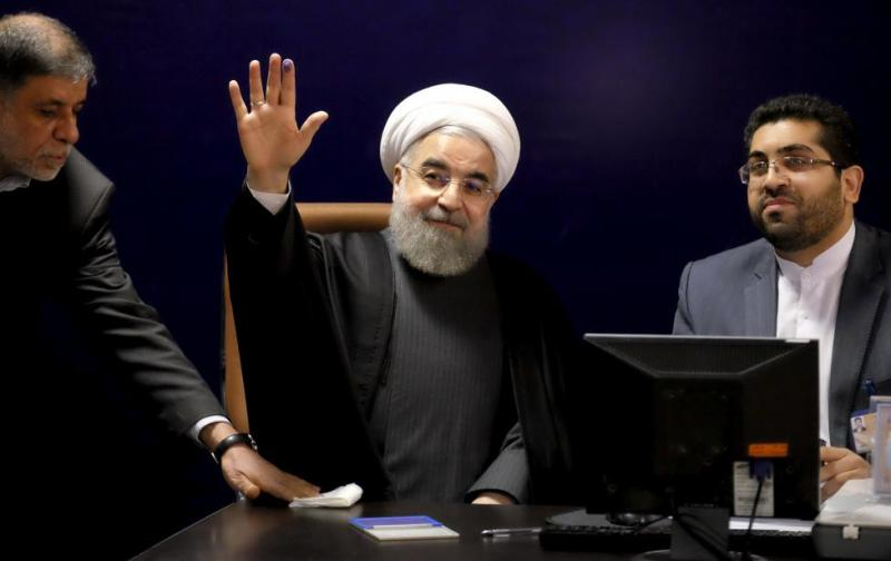 Pilpres Iran: Petahana Hassan Rouhani Sementara Unggul Telak
