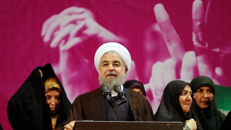 Pilpres Iran, Presiden Rouhani Menang Telak