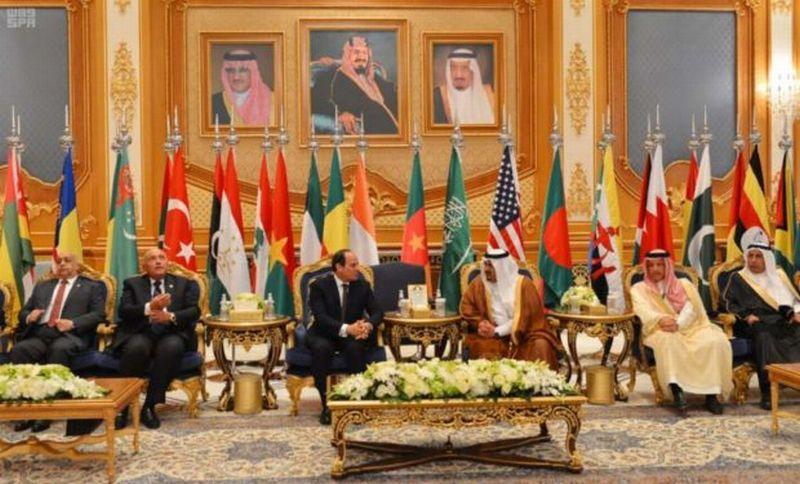 Hadiri pertemuan puncak Anti-Terorisem AS-Arab Saudi, para pemimpin negara tiba di Riyadh. (Foto: SPA)