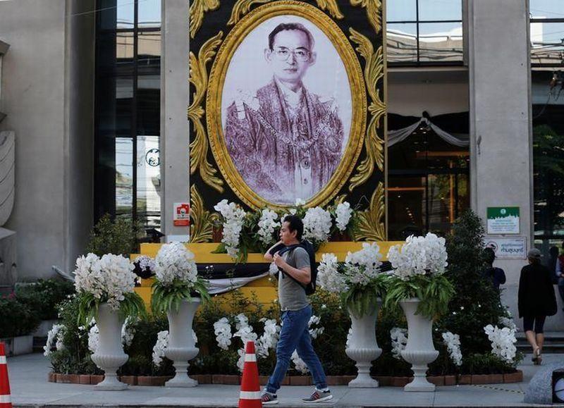 Foto mendiang Raja Thailand, Bhumibol Adulyajed. (Foto: Reuters)