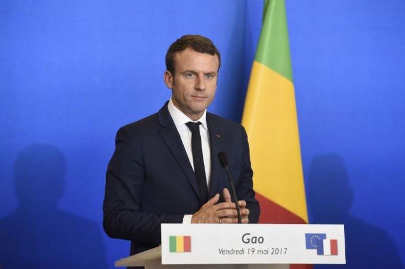 Presiden Prancis, Emannuel Macron. (Foto: Reuters)