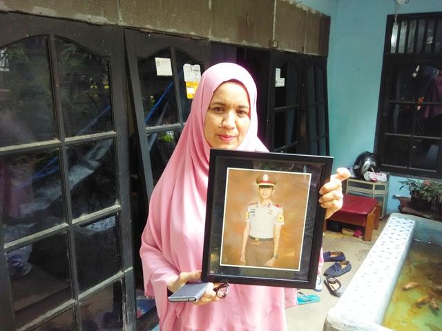 Foto almarhum Mohammad Adam yang menjadi korban kekerasan seniornya (Foto: Harits/Okezone)