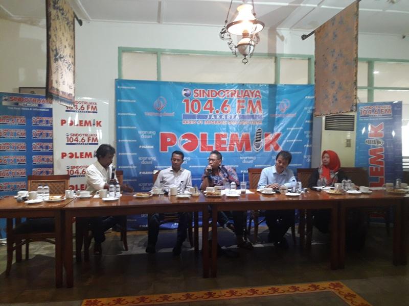 Diskusi Polemik SindoTrijayaFM tentang RUU Pemilu (Dara/Okezone)