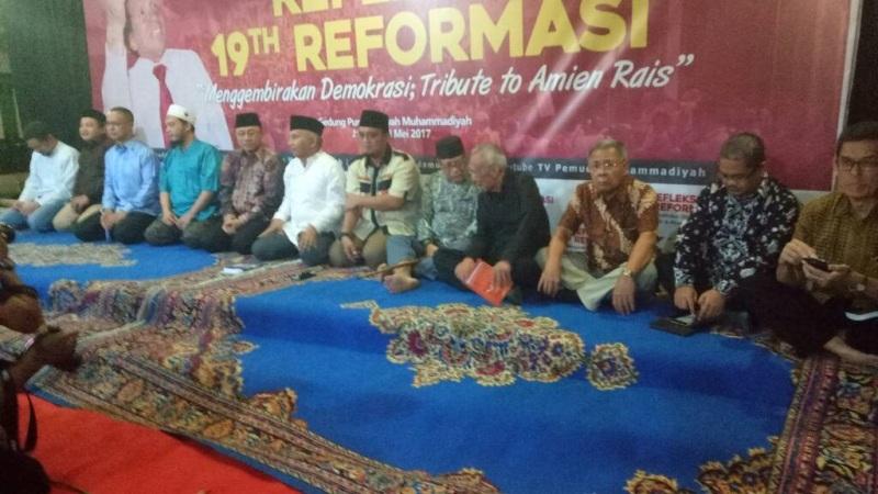 Refleksi 19 tahun reformasi di Kantor Pemuda Muhammadiyah (Fahreza/Okezone)