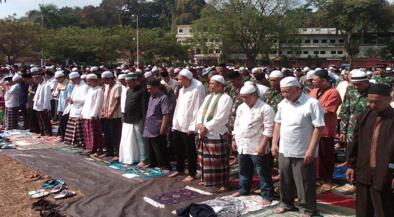 Ilustrasi umat Islam. (Foto: dokumentasi Okezone)